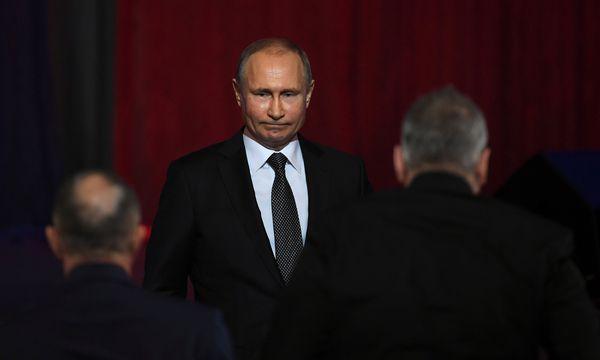 Russlands Präsident Putin wird Kanzler Kurz morgen im Kreml empfangen. / Bild: (c) REUTERS (POOL)