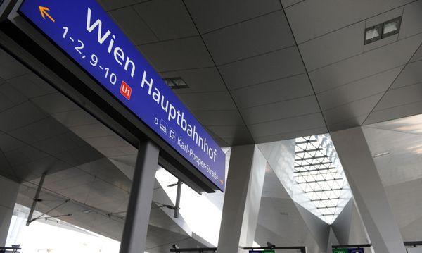 Wien Hauptbahnhof  / Bild: Die Presse