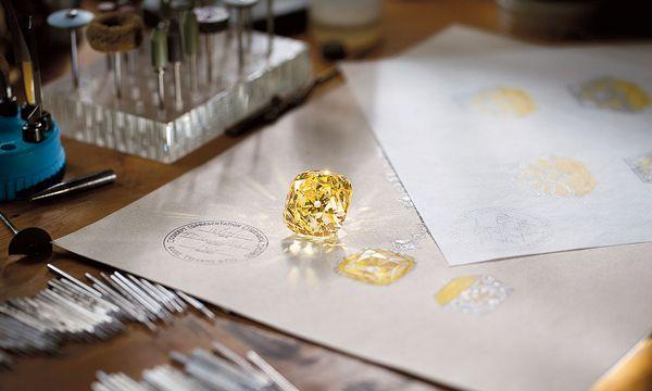 """(c) Beigestellt Sagenhaft. Der berühmte """"Tiffany-Diamant"""" ist der bestgehütete Schatz des Hauses und seit 140 Jahren im Besitz der Firma."""