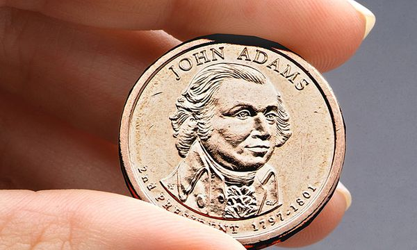 Ein Dollar-Münze  / Bild: (c) AP (US Mint, File)