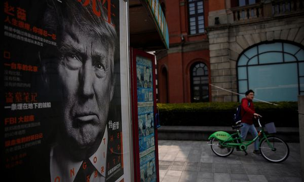 Trump setzt Peking vor einem Treffen mit Xi Jinping unter Druck. / Bild: REUTERS/Aly Song