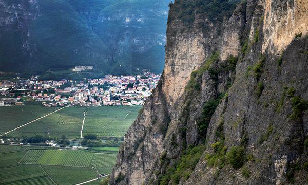 (c) Theo Zierock Steil. Das Trentino ist eine von Genossenschaften geprägte Weinregion.