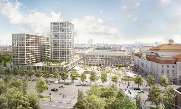 Der Plan für den Neubau am Heumarkt-Areal. / Bild: (c) APA (Isay Weinfeld & Sebastian Murr)