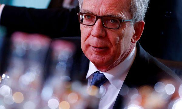 Der deutsche Innenminister Thomas de Maiziere (CDU)  / Bild: Reuters