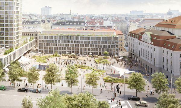 Der geplante 66 Meter hohe Turm am Wiener Heumarkt sorgte für heftige Diskussionen. / Bild: (c) Rendering: Nightnurse