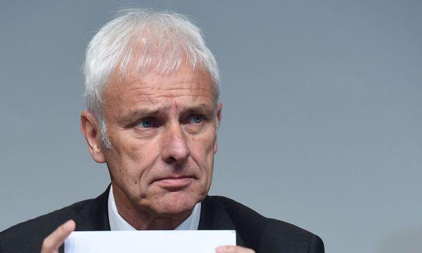 Volkswagen-Chef Matthias Müller / Bild: REUTERS