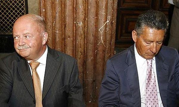 Zwettler und Elsner im Juli 2006 / Bild: (c) APA (Hans Klaus Techt)