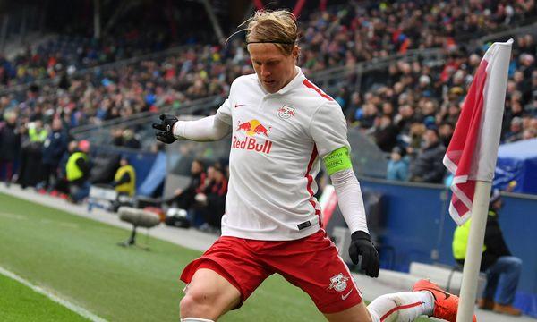 Xaver Schlager ist eine Stütze der Youth-League-Mannschaft und kann auf 15 Bundesligaeinsätze verweisen. / Bild: (c) Barbara Gindl/APA/picturedesk.com
