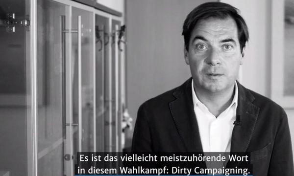 Rainer Nowak im Video-Kurzkommentar zum Thema Dirty Campaigning /