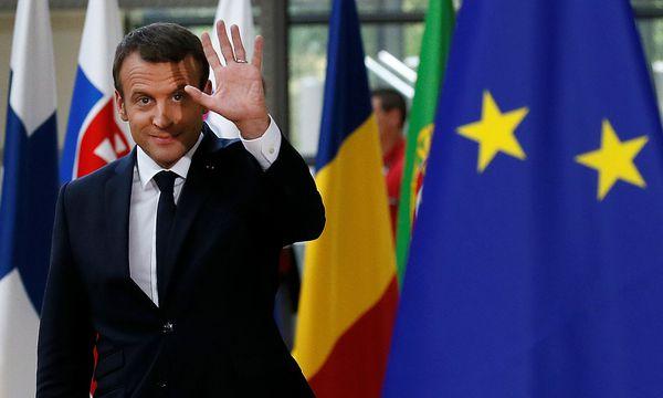 Macron steht für neue Dynamik in der EU. / Bild: REUTERS/Gonzalo Fuentes