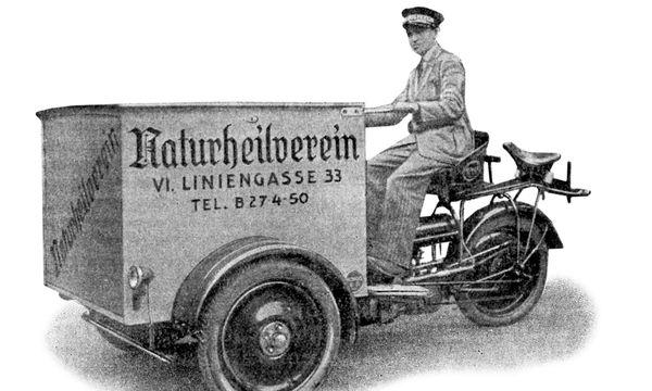(c) Beigestellt Fleischloses Wiener Schnitzel gab es schon um 1900.