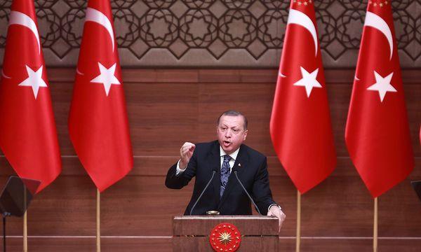Präsident Erdogan. / Bild: APA/AFP/ADEM ALTAN