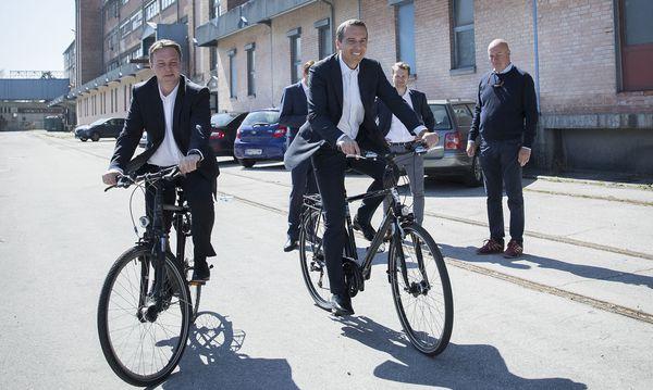 Andreas Babler und Christian Kern  / Bild: APA/BKA/ANDY WENZEL