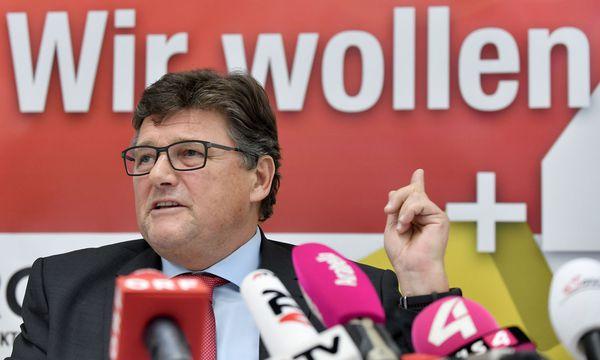 PRO-GE-Vorsitzender Rainer Wimmer  / Bild: APA/HANS KLAUS TECHT
