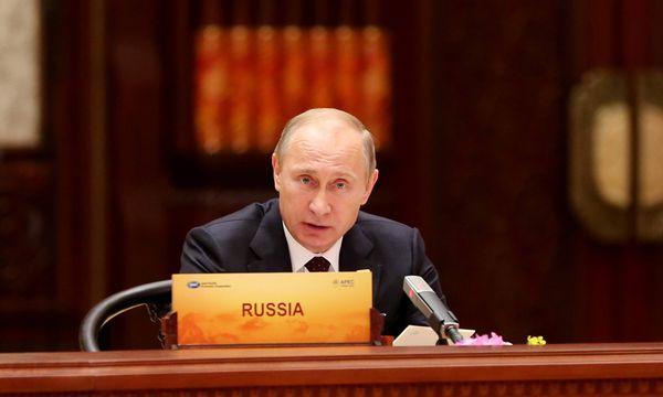 141111 BEIJING Nov 11 2014 Russian President Vladimir Putin speaks during the 22nd Asia P / Bild: (c) imago/Xinhua (imago stock&people)