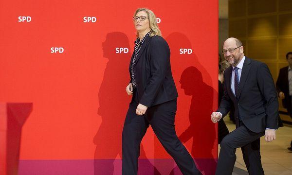 Anke Rehling musste im Saarland für die SPD leichte Verluste hinnehmen - trotz des neuen SPD-Chefs Martin Schulz. / Bild: imago/Christian Thiel