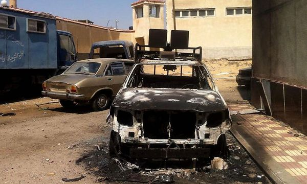 Anschlag von Islamisten am Sinai vor einigen Tagen / Bild: EPA