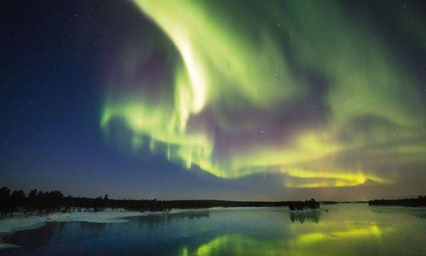 Visit Finland Nordlicht in Finnisch-Lappland