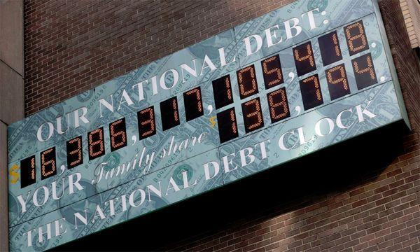 US-Schuldenuhr, Stand 31.12.2012 / Bild: (c) AP (Seth Wenig)