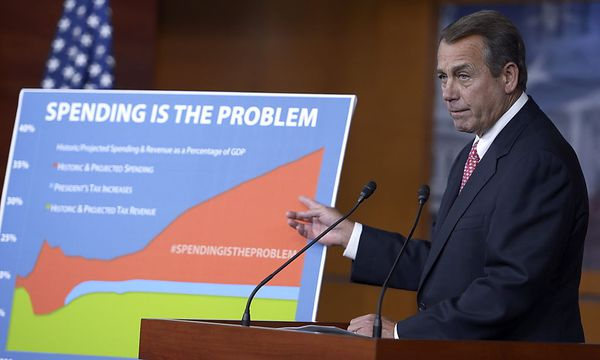 USA CONGRESS BOEHNER FISCAL CLIFF / Bild: EPA