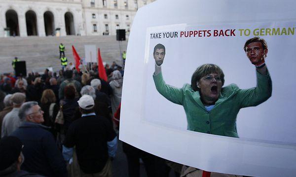 Proteste in Portugal / Bild: EPA