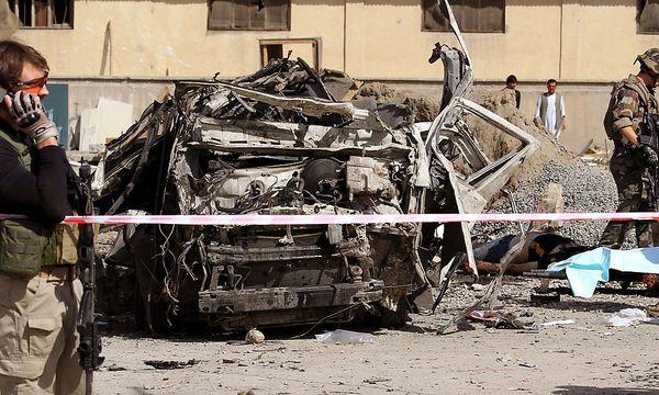 Kabul: Blutiger Anschlag als