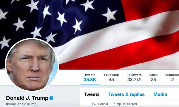 Twitter ist Trumps direkter Draht zur Außenwelt. / Bild: REUTERS