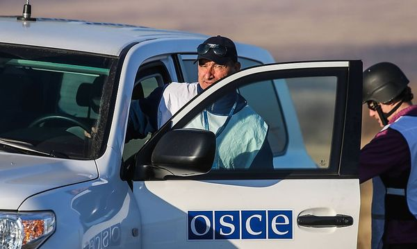 OSZE-Mitarbeiter in Ukraine / Bild: imago/ITAR-TASS