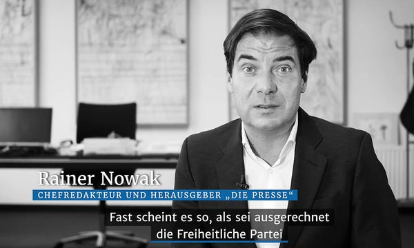 Rainer Nowak im Video-Kurzkommentar zum Thema Koalitionsvarianten /