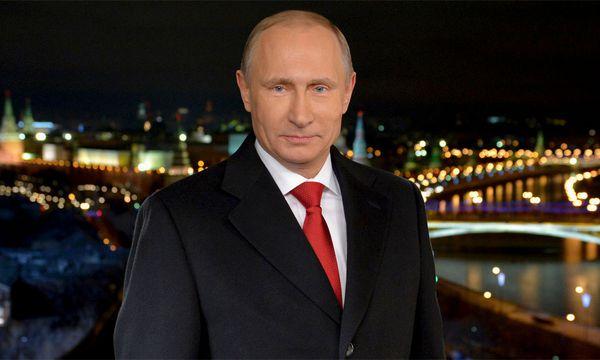 Wladimir Putin bei seiner Neujahrsansprache. / Bild: (c) Reuters (RIA NOVOSTI)