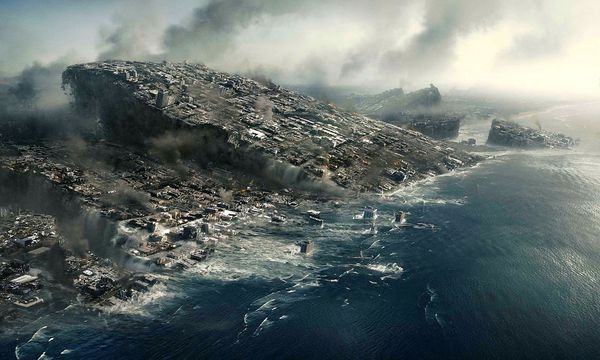 """Selten war die Apokalypse so albern – und ansehnlich – wie in """"2012"""". / Bild: Columbia Pictures"""