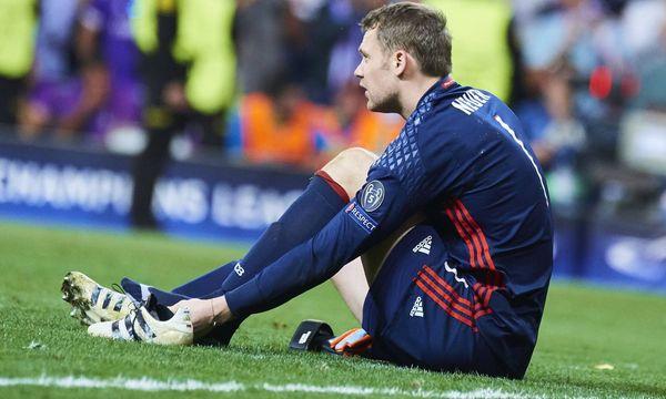 Manuel Neuer hat sich am linken Fuß verletzt. / Bild: (c) Imago