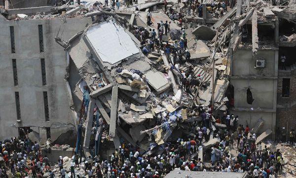Bangladesch: Katastrophe bei Fabrikseinsturz / Bild: (c) REUTERS (ANDREW BIRAJ)
