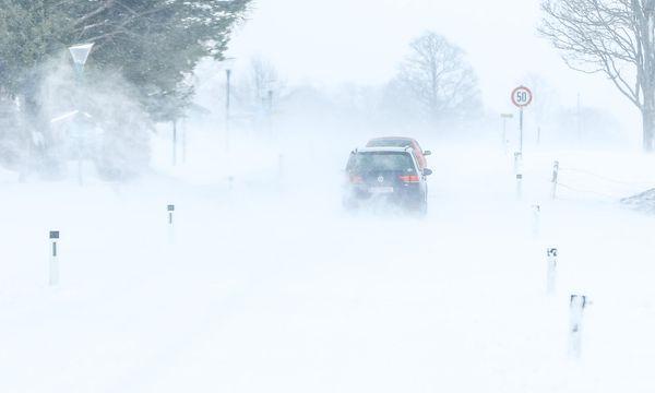 Winterliche Verhältnisse am Mittwoch auch in Ramsau am Dachstein  / Bild: APA/MARTIN HUBER