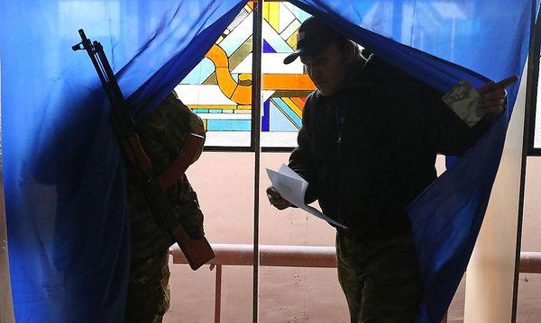 ''Wahlen'' in Donezk / Bild: imago/ITAR-TASS