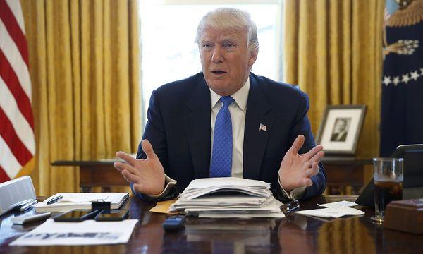 Donald Trump in seinem Büro. / Bild: REUTERS/Jonathan Ernst