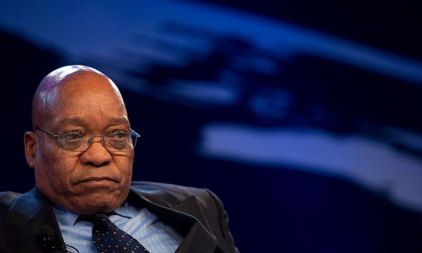 Wird er bald abtreten? Südafrikas Präsident Zuma / Bild: APA/AFP/JOHANNES EISELE