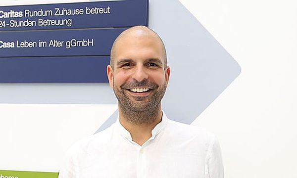 Markus Platzer denkt Organisationsformen in der Pflege vollkommen neu.  / Bild: (c) Stanislav Jenis