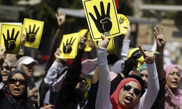 Proteste von Anhängern der Muslimbrüder in Kairo / Bild: REUTERS