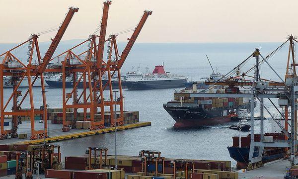 Hafen von Priäus / Bild: EPA