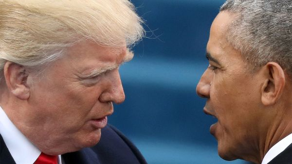 Trump mit Obama / Bild: Reuters