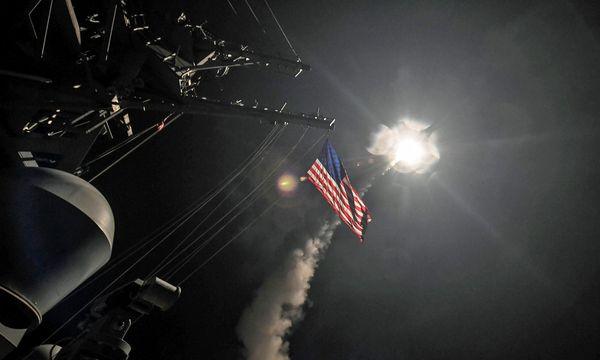 US-Luftschlag gegen Syrien / Bild: (c) REUTERS (HANDOUT)