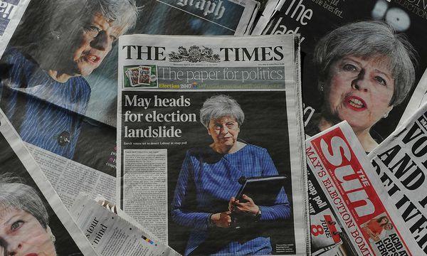 Theresa May überraschte mit ihren Neuwahl-Plänen. / Bild: (c) APA/AFP/DANIEL SORABJI (DANIEL SORABJI)