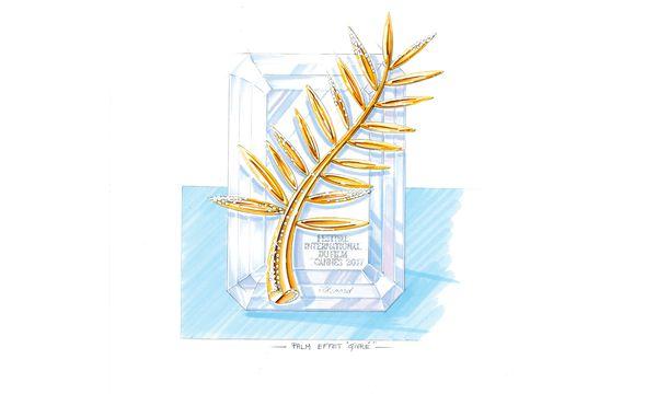 (c) beigestellt  Auszeichnung. Zum 20. Jubiläum hat die Goldene Palme an Diamanten gewonnen.