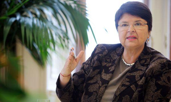 Wiens Wirtschaftsstadträtin Renate Brauner / Bild: (c) Clemens Fabry (Presse)