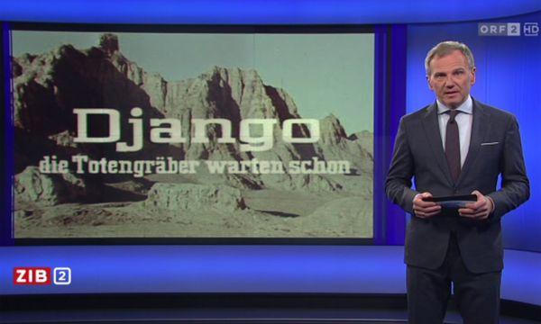 """""""ZiB 2""""-Moderator Armin Wolf vor dem Sujet, von dem sich Mitterlehner beledigt fühlte / Bild: (c) ORF"""