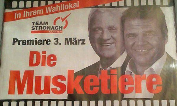 Wahlplakat des