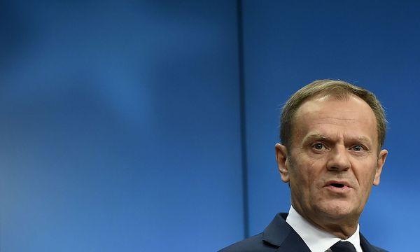 Donald Tusk soll in Polen aussagen. / Bild: (c) APA/AFP/JOHN THYS (JOHN THYS)
