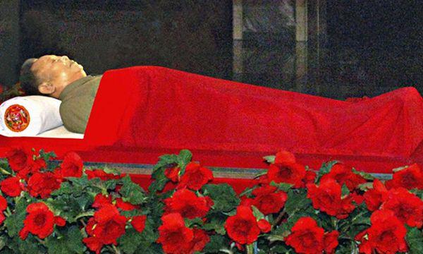Leichnam von Kim Jong-il / Bild: (c) REUTERS (KCNA)