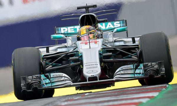 Lewis Hamilton / Bild: APA/AFP/JOE KLAMAR